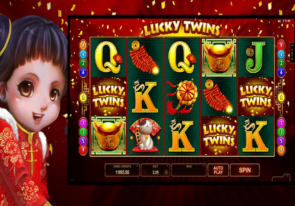 Lucky Twins Asian Themed Online Slot Game Guide: Play Free ...