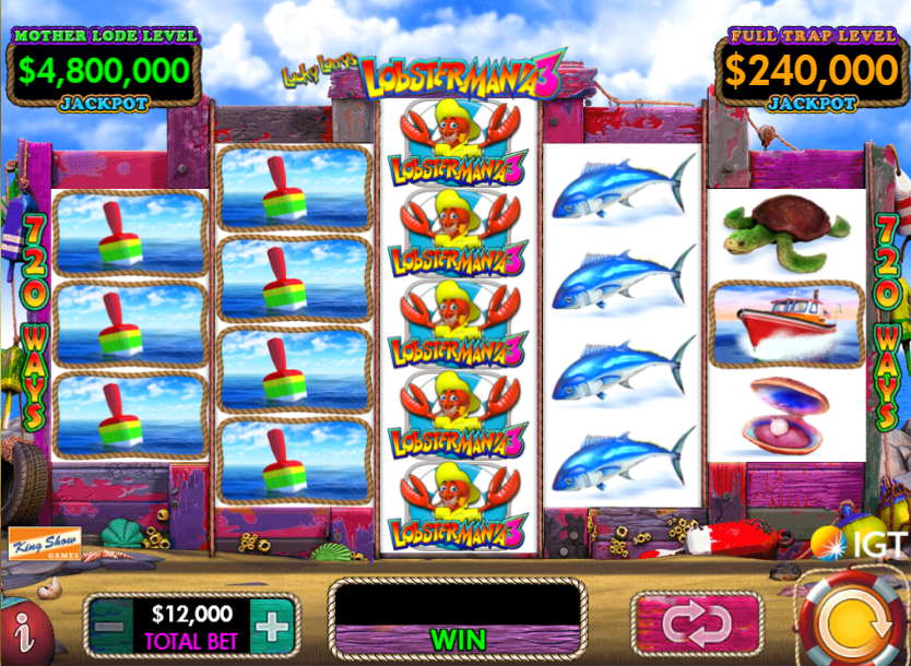 Lobstermania 3 Slot Machine