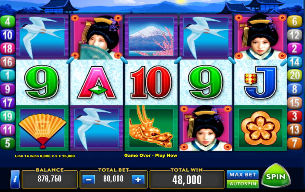 Geisha Free Slots