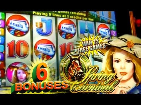 Spring Carnival Slots Bonus Features Free Spins Preview